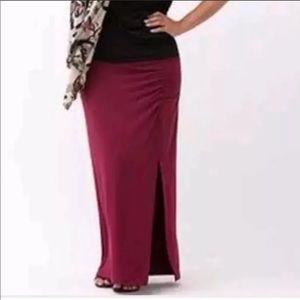 Lane Bryant Women maxi skirt